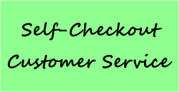 Self-checkout customer service
